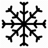 Grid, Ice, Line, Outline, Shape, Snow, Snow Flakes, White, Winter Icon image #1646