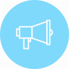 Loudspeaker, Marketing, Megaphone, Promotion Icon image #3418