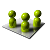 3d Group  Icon image #3211