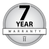 7 Seven Year Warranty Icon image #38108