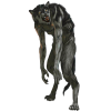 Action Figure Demon Animal Figure Wolf Werewolf Clip Art Picture image #48847