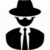 Agent, Cia, Fbi, Nsa, Spy, Stag, Sweeper, Undercover Icon | Icon image #2001