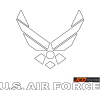 Air Force Logo Download Free Icon Vectors image #29372