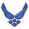 High Resolution Air Force Logo  Icon image #29346