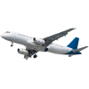 Transparent Airplane Background thumbnail 27960