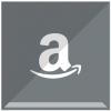 Gray Amazon Logo Icon image #21122
