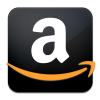 Black Amazon Logo Icon image #21107