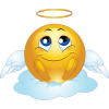 Angel Male Smiley Emoticon image #15011