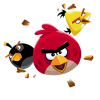 Angry Birds Flying Transparent image #46173