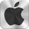 Library Icon Apple Logo image #14898