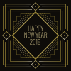 Art Decoration 2019 Happy New Year image #47307