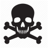 Attention, Bones, Death, Skull Icon image #5247