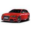 AUDI PNG Car Image Red Hatchback image #45301