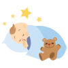 Baby Sleeping Icon image #19065