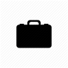 Baggage, Briefcase, Case, Goods, Job, Travel Icon image #2658