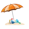 Ball, Umbrella, Beach image #41227