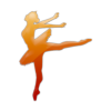 Ballet Dancer Icon image #33588
