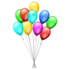 Svg Icon Balloons image #16187