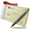 Bank Check, Banking, Business, Document, Finance, Money, Payment Icon image #6029