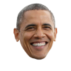 Barak Obama Face image #42687