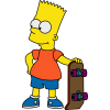 Transparent Background Bart Simpson  Hd thumbnail 39259