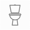 Bathroom Toilet Wc Icon image #14008