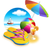 Beach, Umbrella, Sea, Cocktail, Ball, Summer image #41190