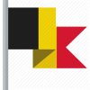 Belgium Flag Icon Vector image #21130