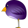 Bird Purple For Windows Icons image #6179