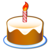 Birthday Cake Icon image #10187