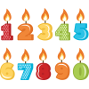 Birthday Candles Images Clipart Best Free image #31042