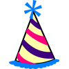 Clipart  Birthday Hat Collection image #20288