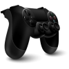 Black 3d Ps4 Controller Icon Png image #42101
