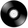 Black Disco Cd Music Icon image #14185