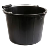 Black Plastic Bucket Picture image #48891