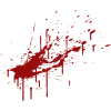 Blood Spatter  Clipart image #44466
