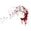 Blood Spatter  Transparent image #44478