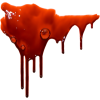 Real Blood Transparent Drop image #37986