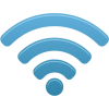 Blue 3d Wifi Icon image #3789
