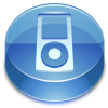 Blue Apple Ipod  Icon image #28945