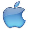 Blue Apple Logo Icon image #14894