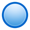 Blue Ball Icon image #4631