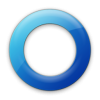 Blue Circle Icon image #16066