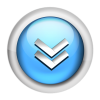 Blue Downloads Icon image #4371