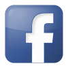 Blue Facebook Square Icon image #731