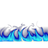 Blue Fire Graphic thumbnail 2453