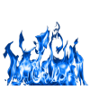 Blue Flames  Hd image #34504