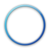Blue Geometric Circle Icon image #16071