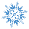 Blue Hd Snowflakes Png image #41261