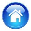 Blue Home Page Icon image #2587